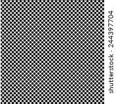 A Fine Polka Dot Texture  Blac...