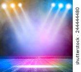 background in show. vector... | Shutterstock .eps vector #244444480
