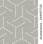 vector seamless pattern. modern ... | Shutterstock .eps vector #244457710