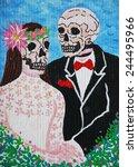 Day Of The Dead  Skull Wedding  ...
