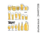 Beer Mugs Isolated