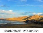 road cusco puno  peru  south... | Shutterstock . vector #244504354