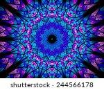 Oriental Kaleidoscope Fractal ...