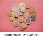 Euro Coins Currency Of The...