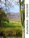 wonderful countryside amazing... | Shutterstock . vector #244612360