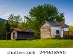 Old Farm Buildings In The...