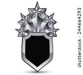 sophisticated vector blazon... | Shutterstock .eps vector #244664293