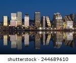 Oslo Skyline By Night