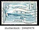 vintage french stamp depicting... | Shutterstock . vector #24469474
