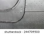 aircraft siding | Shutterstock . vector #244709503