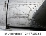 aircraft fuselage and wing | Shutterstock . vector #244710166