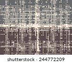 abstract grunge vector... | Shutterstock .eps vector #244772209