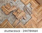 Damaged Wooden Floor  Ruined...