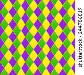 green  purple  yellow grid... | Shutterstock .eps vector #244786819
