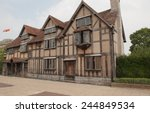 Small photo of The Birthplace of William Shakespeare on Henley Street in Stratford upon Avon, Warwickshire, England, UK