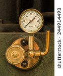 Shinny Brass Steam Pressure...