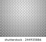 metal texture background.... | Shutterstock .eps vector #244935886