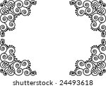 Oriental vector pattern - stock vector