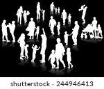 family concept illustration | Shutterstock .eps vector #244946413