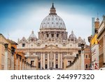 View Of St Peter's Basilica In...