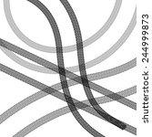 tire prints  vector... | Shutterstock .eps vector #244999873