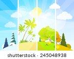 Four Season Concept Landscape...