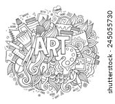 Art Hand Lettering And Doodles...