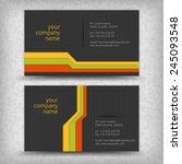 vector abstract creative... | Shutterstock .eps vector #245093548