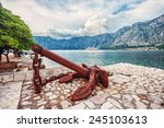 Old Anchor On The Waterfront On ...