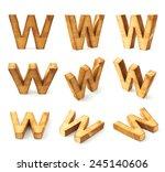 Set Of Nine Block Wooden...