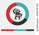 Intellect Infographic. Monkey...