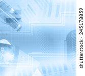 finance abstract background | Shutterstock . vector #245178859