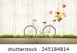 Bicycle Vintage With Heart...