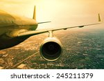 Passenger Jet Plane Flying ...