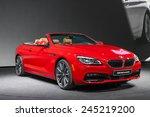 Постер, плакат: The BMW 650i Convertible