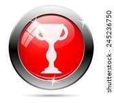 winners cup icon. internet... | Shutterstock .eps vector #245236750