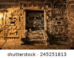 Mystery Of Aztec Temple. Image...