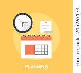 planning   Shutterstock .eps vector #245269174