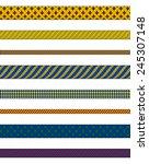 illustration of woven ropes in...   Shutterstock .eps vector #245307148