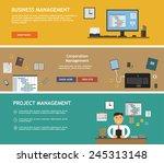management planning analytics...   Shutterstock .eps vector #245313148