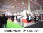 people visit a trade show ... | Shutterstock . vector #245333254