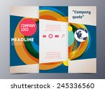 colorful graphic element style... | Shutterstock .eps vector #245336560
