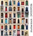 Sampler Of Doors From Malta
