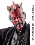 this is a darth maul action... | Shutterstock . vector #245355028