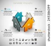vector illustration of real... | Shutterstock .eps vector #245386399
