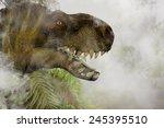 Постер, плакат: Tyrannosaurus Rex in the