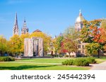 south bend  indiana   october... | Shutterstock . vector #245442394