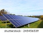 detail of the solar power... | Shutterstock . vector #245456539