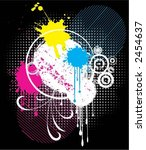 abstract grunge   vector | Shutterstock .eps vector #2454637