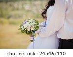wedding flowers bouquet | Shutterstock . vector #245465110